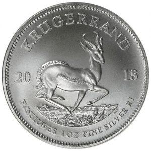 2018 Silver Krugerrand obv
