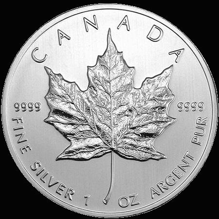 Canadian Silver Maple Leaf PreciousMetals.ie