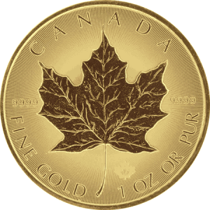 Gold Maple Coin front PreciousMetals.ie