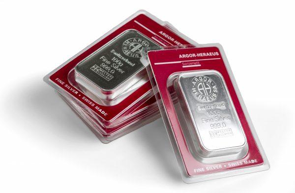 100g Gram Silver Bar