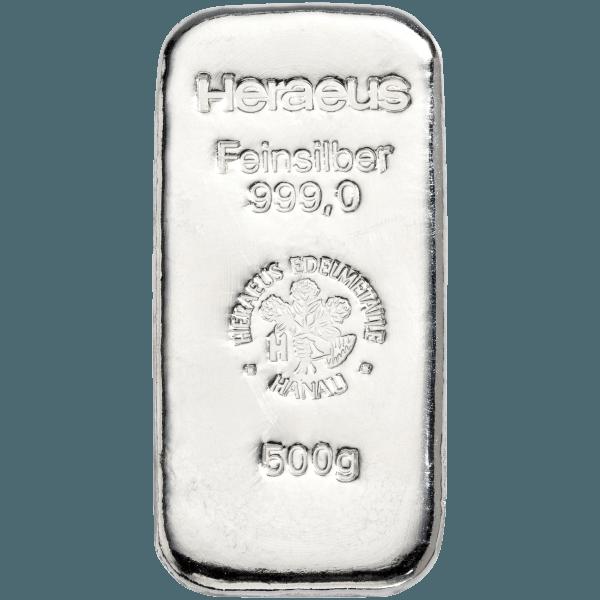 500g Silver Bar