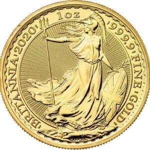 Gold Britannia Coin